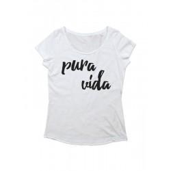 Camiseta chica manga corta PURA VIDA