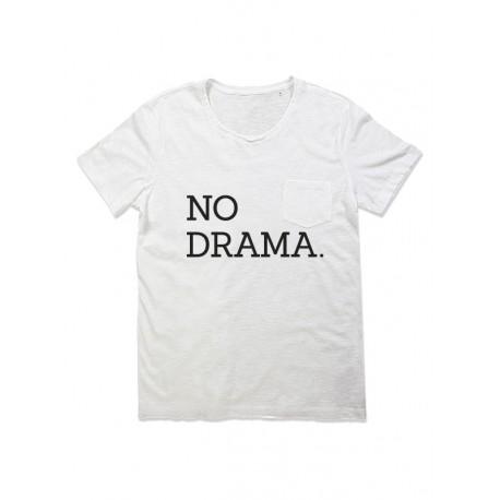 Camiseta manga corta chico bolsillo NO DRAMA