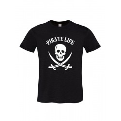Camiseta manga corta chico PIRATE LIFE