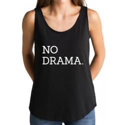 Camiseta tirantes NO DRAMA