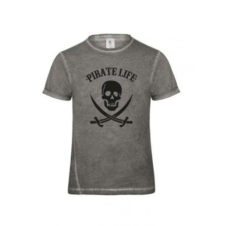 Camiseta chico manga corta PIRATE LIFE