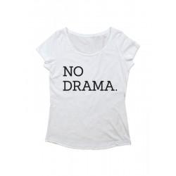 Camiseta chica manga corta No Drama